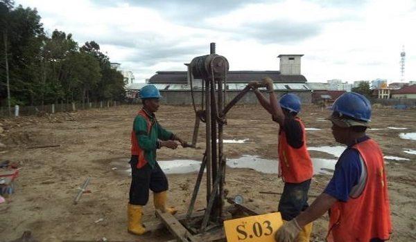 Cv Tiga Sisi Soil Test Sondir Boring Spt Bor Pile Sand Cone