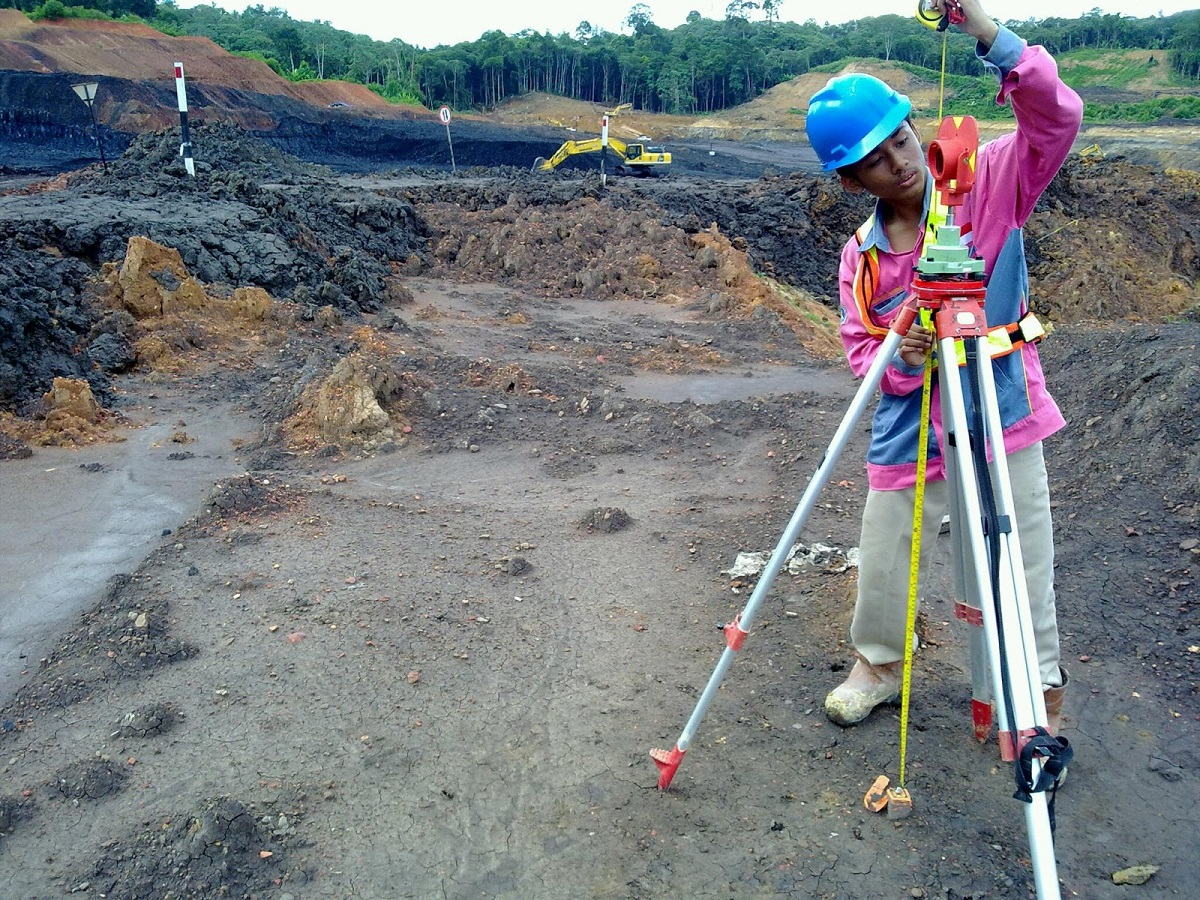 Topografi di Samarinda Kaltim Kalimantan Timur